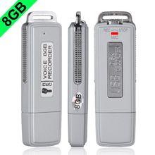 New 2015 Mini USB Flash Drive Disk Shape Style 8GB Digital Voice Recorder Multi-Function Y50*DA1049#M5(China (Mainland))