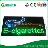 Hidly brand  LED acrylic e-cigarettes display /LED cigarettes sign