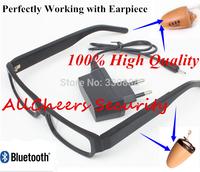 Original Slim Bluetooth Glasses for Skin Color tiny mini  305 earpiece micro earphone ( not including earpiece)