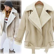 lamb wool coat promotion