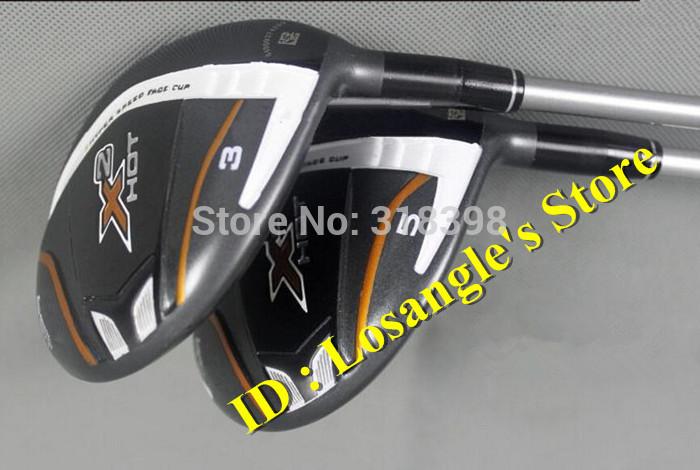 2014 Hot Sale X2 HOT Golf Fairway Wood #3#5 With X 2 HOT Graphite R flex Shafts Golf Clubs(China (Mainland))