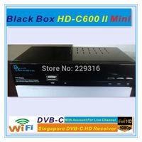 No monthly fee,BLACKBOX hd c600mini Singapore starhub box cable tv receiver