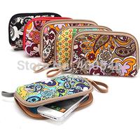 Women Change Purse 2015 Korean Fashion Small  coin Purse PU Leather Zipper Women Purse  Wallets bag for iPhone 5s Free Shipping