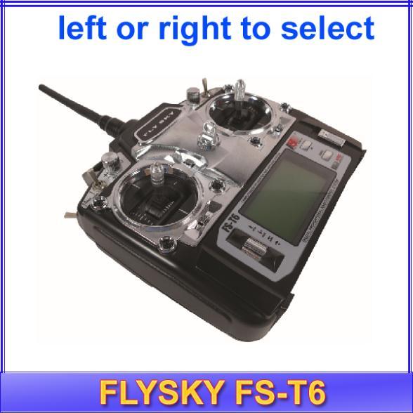 Запчасти и Аксессуары для радиоуправляемых игрушек FS FlySky fs/T6 T6 2.4g 6 /led FS-T6