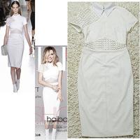 summer dress desigual vestidos ropa mujer ladies midi dress vetement femme robe vintage office dress white bodycon party 208A