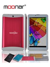 7 inch 1024*600 Moonar Dual Core 3G Phone Tablet PC MTK8312 Android 4.4 1GB+8GB Dual Camera Bluetooth GPS 2X PB0167