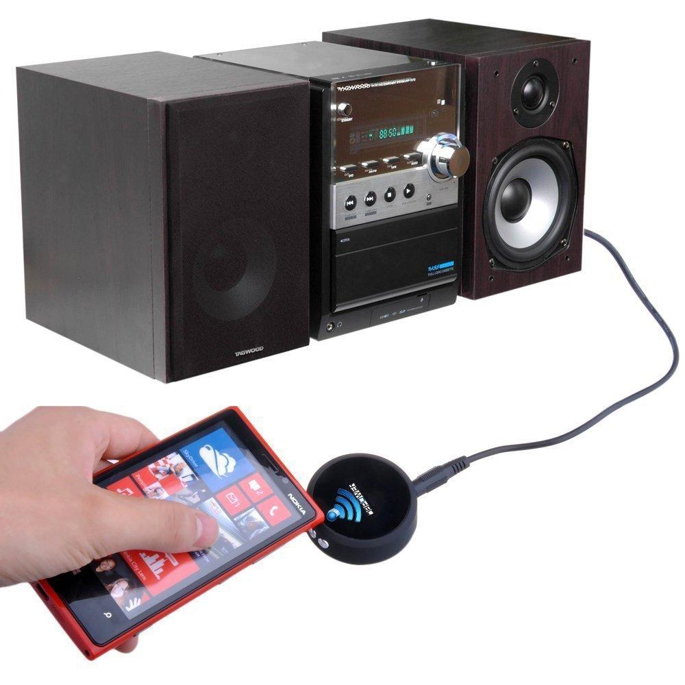 mini pílula portátil sem fio bluetooth 4.0 receptor de áudio música falante subwoofer mãos livres carro kit de alto-falante forcellphone(China (Mainland))