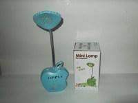 M528 Free Shipping AC 220V AC110V 12 LED Desk Lamp Table Lighting White Light  Rechargable Reading Desk Table Lamp Light