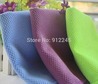 New 3 PCS Magic Window Windshield Cloth Kitchen Cleaning Towels Fish Scales Microfiber Polishing Shine Towels 30*40cm No Traces