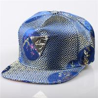 2014 Brand New Hip Hop Adjustable Leather GALAXY HATER Snapback Caps Snap back Baseball Caps Hats blue& black