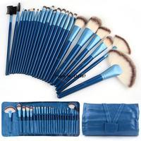 24 PCS Blue Synthetic Professional Cosmetic Makeup Brushes Kit/Brush Set B11 SV005179