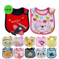 3pcs/lot Baby Bibs carters towel Waterproof cotton baby bib infant saliva towels carter's baby bibs girls boys support wholesale