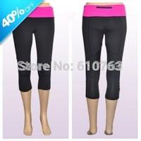 Hot selling top quality design 87% nylon 13% spandex wholesale women running pants