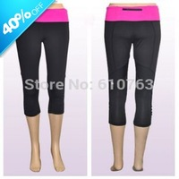 Hot selling top quality design 87% nylon 13% spandex wholesale women running pants