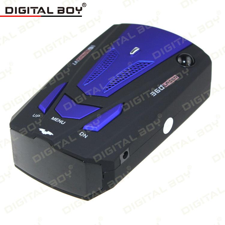 """2014 New Car Detector V7 Russia / English 16 Brand 1.5"""" LCD Display X K NK Ku Ka Laser Anti Radar Detector Free Shipping(China (Mainland))"""