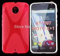 For Moto X+1 TPU Case,New X Line Soft TPU Gel Skin Cover Case For Motorola Moto X1 X2 G5