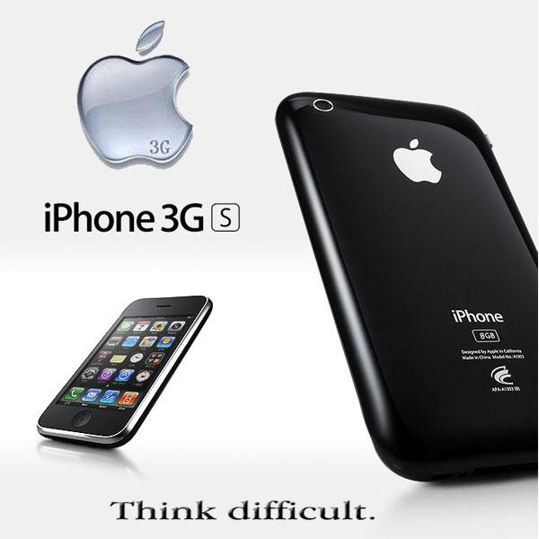 original Sealed box Apple Iphone 3GS apple 8GB 16gb 32gb Black, white color wifi 3G IOS6 smart mobile phones used(China (Mainland))