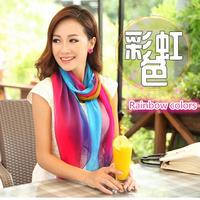 1 1 summer hot sale colorful cocktail Gradient scarf / women fashion beach wrap / islam muslim hijab / head wraps