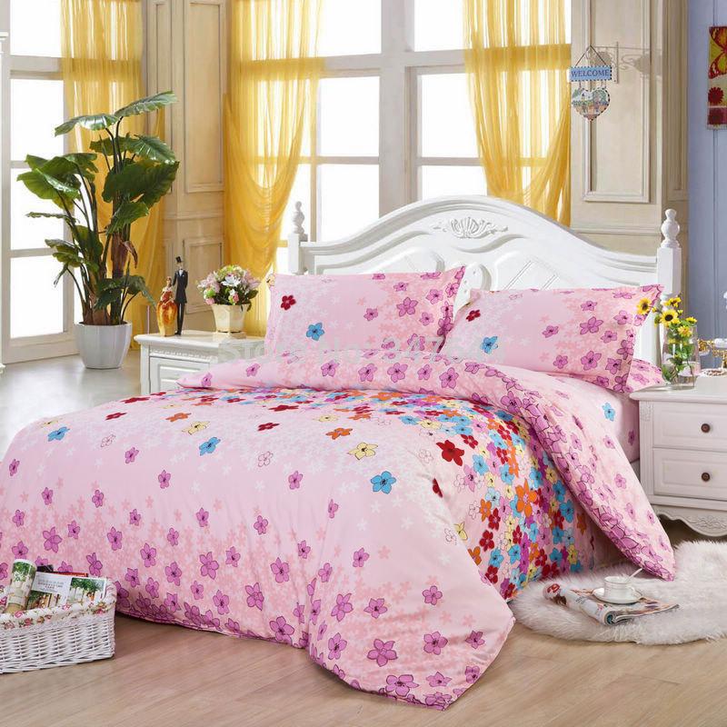 jogo do fundamento 4 pcs roupa de cama roupa de cama tampa do duvet cama fronha folha cama de luxo situado, rei, rainha completa tamanho no. 11(China (Mainland))
