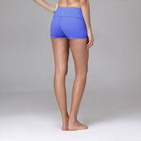 Queen Yoga Victoria women shorts, New tend dark blue women gym wear cheap women yoga shorts