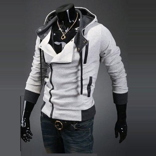 hot sale 2014 new styles Men's Autumn and winter cardigan Korean men's Hoodie Jacket 27(China (Mainland))