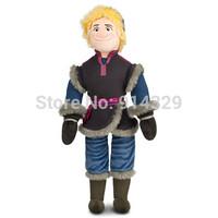 2014 New 50cm Frozen Kristoff Plush Dolls Princess Elsa Anna Baby Soft Toy for Girls Christams Birthday Party Gift Free Shipping