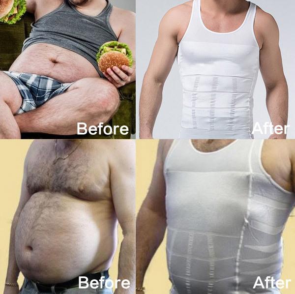 Men Slimming Body Shaper underwear waist training corsets Men TV shopping waist and abdomen underwear Less beer belly -SSY002(China (Mainland))