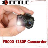 HD F5000 1280P Mini Camcorders Digital Camera DV DVR Video Mini Camera Motion Detection Removable Support 4gb-16gb Original Box