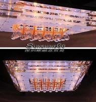 2014 rectangular LED Crystal Light Low Light   Restaurant Lamp Living Room Lamp Bedroom Lamp Lights Dining Room Lights DS-001