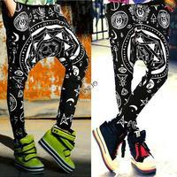 Baggy Dance Pants 2014 Sports Women Harem Pants Casual Sport Hip Hop Pants Women Sweatpants Trousers For Girls #12 SV004833