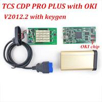 10pcs/lot Cheap TCS CDP PRO with OKI Chip bluetooth  2014.2 Version