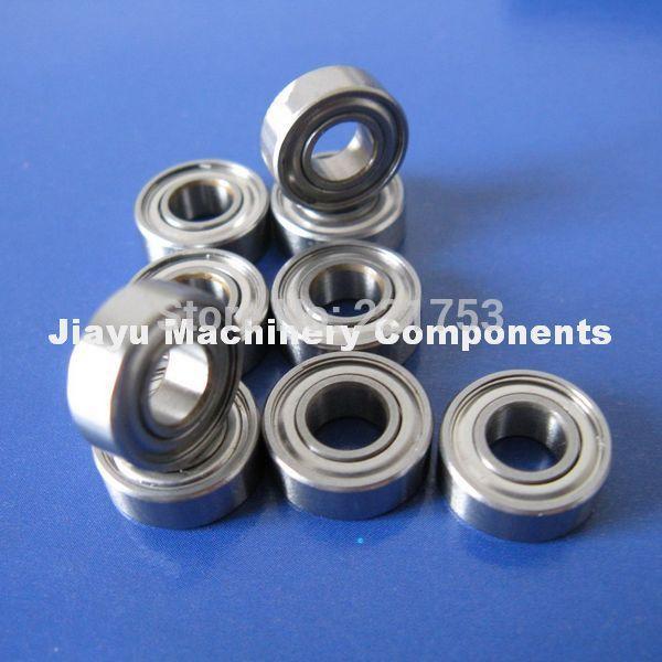 Free Shipping 10 PCS SMR115ZZ Bearings 5x11x4 mm Stainless Steel Ball Bearings(China (Mainland))