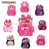 Winx School Bags Orthopedic Girls Princess Children School Backpack Sofia the First Monster High School Backpack Mochila Escolar