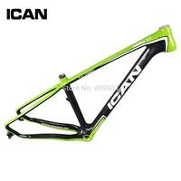 Toray T700 carbon bike frame 27.5er mtb frame internal cable carbon mtb frame 4 sizes blue red bike frame XT275