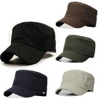 2014Hot Classic Women &Men Snapback Caps Vintage Army Hat Cadet Military Patrol Cap Adjustable Utdoors Baseball Unisex Hats New