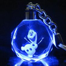 HWP Frozen 7 colour crystal pendant Novelty & Gag Toys Mobile Phone Accessories & Parts Mobile Phone Straps