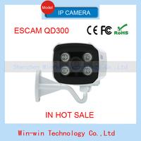 2014 Escam Brick QD300 Onvif 720P IR Bullet H.264 1/4 CMOS 3.6mm fixed lens Night Vision Waterproof P2P Mini IP Camera poe