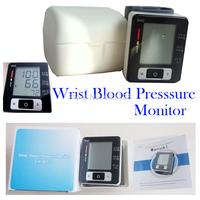 BP Monitor Automatic Digital Wrist Blood Pressure and Pulse Monitor Sphygmomanometer Portable Blood Pressure Monitor Free Ship