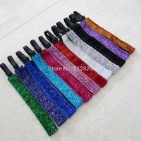 12pcs 12 color Mix Non-Slip Adjustable Women Sports Headbands