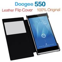 Best Quality Doogee Dagger DG550 Flip Leather Case Cover For Doogee Dagger DG550 White&Black Russian