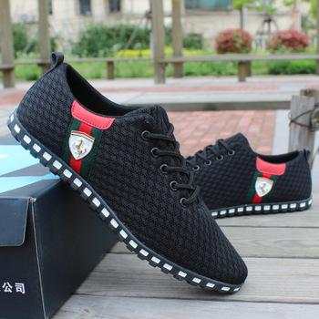 Мода марка PMA весна / лето мужчины свет в конце сетки запуск спортивная обувь, мужская свободного покроя обувь мужская кроссовки 39-46 размер
