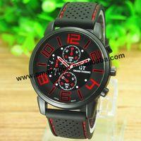 100 pcs/lot Grand Touring GT Men Sport Quartz Watch Popular Military Racing Gift Wrist Watch Fashion Man Army Silicone Watches