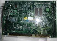 ICP half-length IPC board JUKI-752-R3-SUN ISA expansion card with PPD112 16M hard drive memory