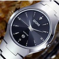DOM watches Men luxury brand fashion casual water resist relogio masculino sport quartz watch full tungsten steel men wristwatch