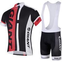 bike team  Cycling Wear Jersey +bib Shorts Bicycle Sportswear Short Sleeves Cycling suit