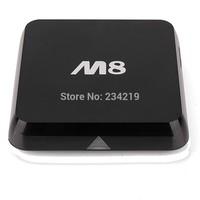 Amlogic m8 quad core tv box  M8 2G 8G 3D GPU XBMC preinstalled smart tv box quad core m8 android tv box m8