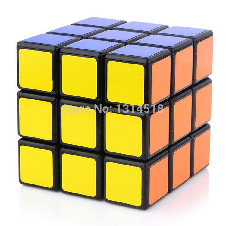 2014 heißer verkauf 3 schichten magische würfel, 3*3*3 drei schichten schwarzen Hintergrund puzzle-würfel, kinder Bildung spielzeug