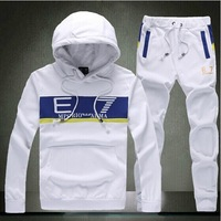 4 Colors Cotton Sports Suit 2014 Hoodie Sports Brand Sport Suit Men Hoodie and Pants Set Fashion Men Sport suit
