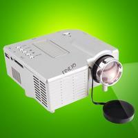 2014 new style 3 in 1 AV cable Projection multimedia projector video projector AV VGA SD mini LED projector B11 SV005783