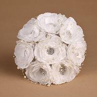 2014 Wedding Bouquets Cotton Bouquet Full Drill Bride Holding Bridesmaids Props Wedding Flowers Bridal Bouquets Vestido De Renda